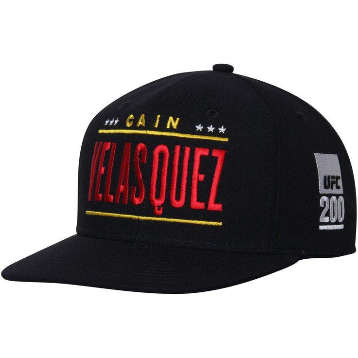 Cain Velasquez UFC Reebok Flat Brim Snapback Adjustable Hat - Black - $20.89