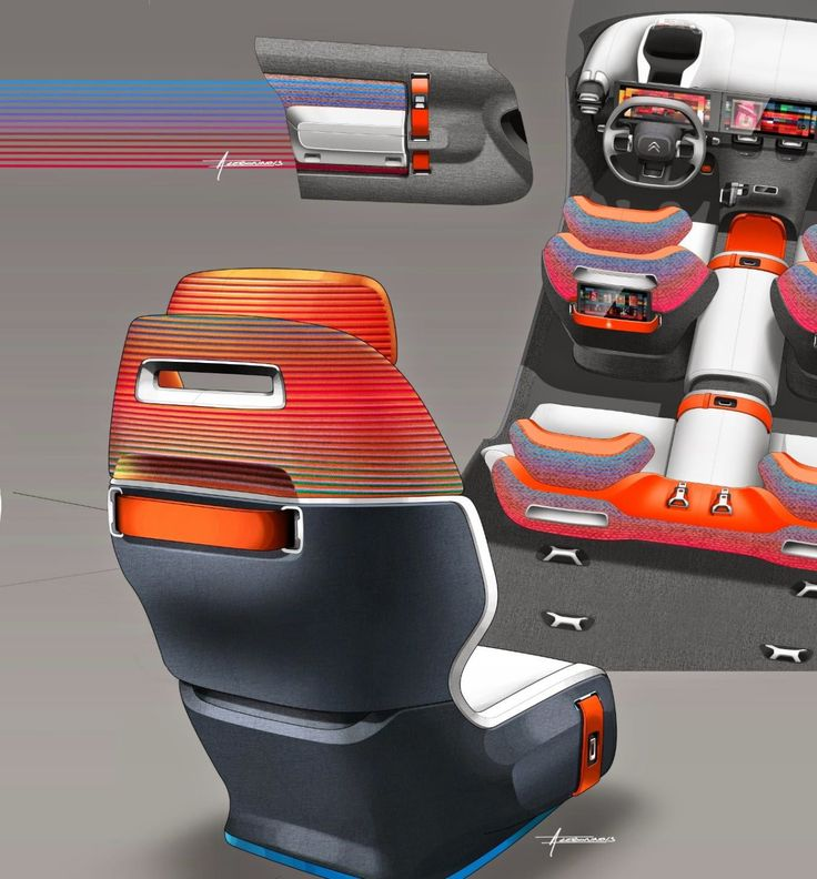 Gashetka   Transportation Design   2015   Citroen Aircross   Design Development:...