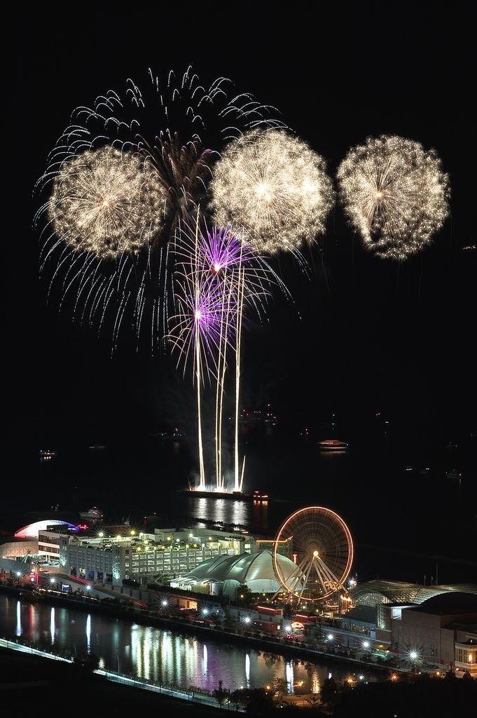 Navy pier fireworks 2 night a week