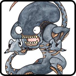 monster flash cards