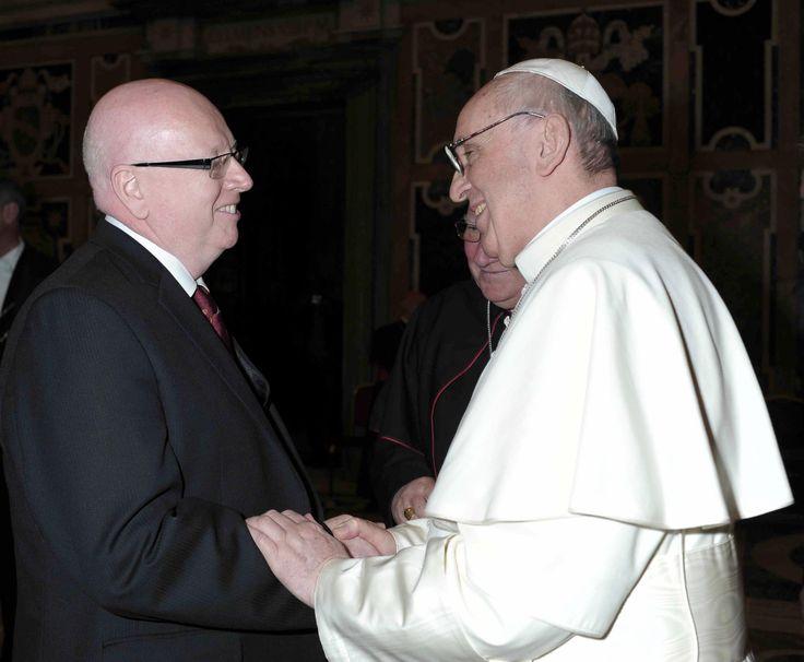 L'Alleanza Evangelica Mondiale si è alleata con 'papa' Francesco -  Facciamo sapere alla fratellanza in Italia che Geoff Tunnicliffe, segretario generale dell'Alleanza Evangelica Mondiale, il gior...