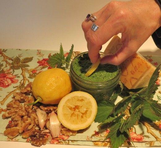nettle pesto | Food for the Soul | Pinterest
