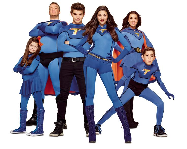 The Thundermans-Family Superhero group