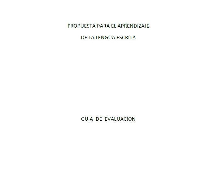 Propuesta para el aprendizaje de la lengua escrita para primer y segundo grado - http://materialeducativo.org/propuesta-para-el-aprendizaje-de-la-lengua-escrita-para-primer-y-segundo-grado/