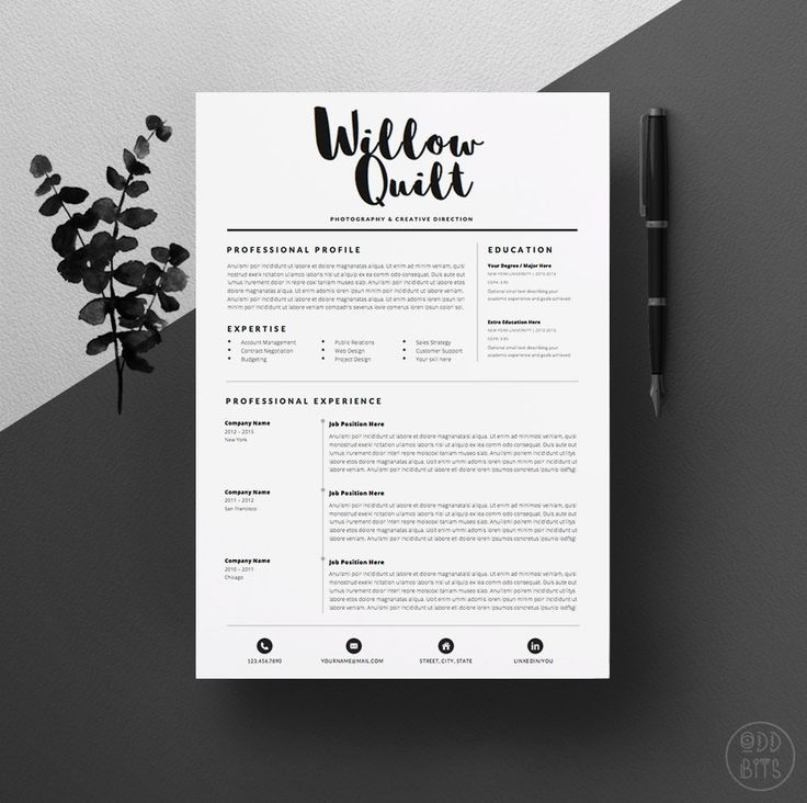99 best Resume designs images on Pinterest Resume design, Cv - professional resume fonts