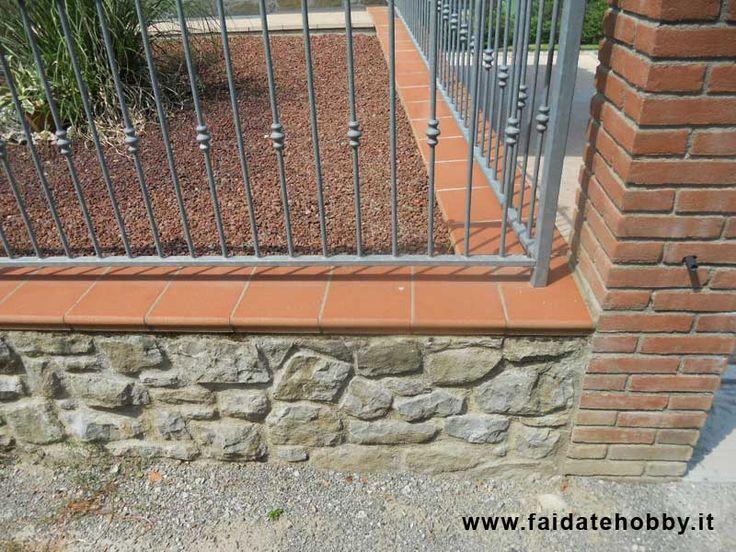 Come costruire un muro in pietra