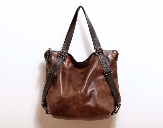 DAY PACK  13 laptop size  convertible by roughandtumblebags, $238.00