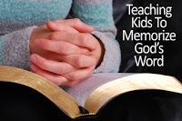 Raising Godly Children: Memorize Bible Verses as a Family