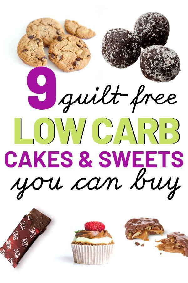 low carb diet cakes
