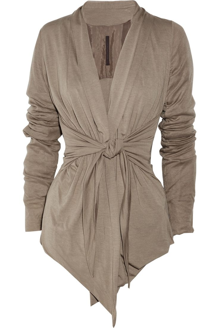 A slightly more structured cardigan, in case you're entertaining guests while you bum around.