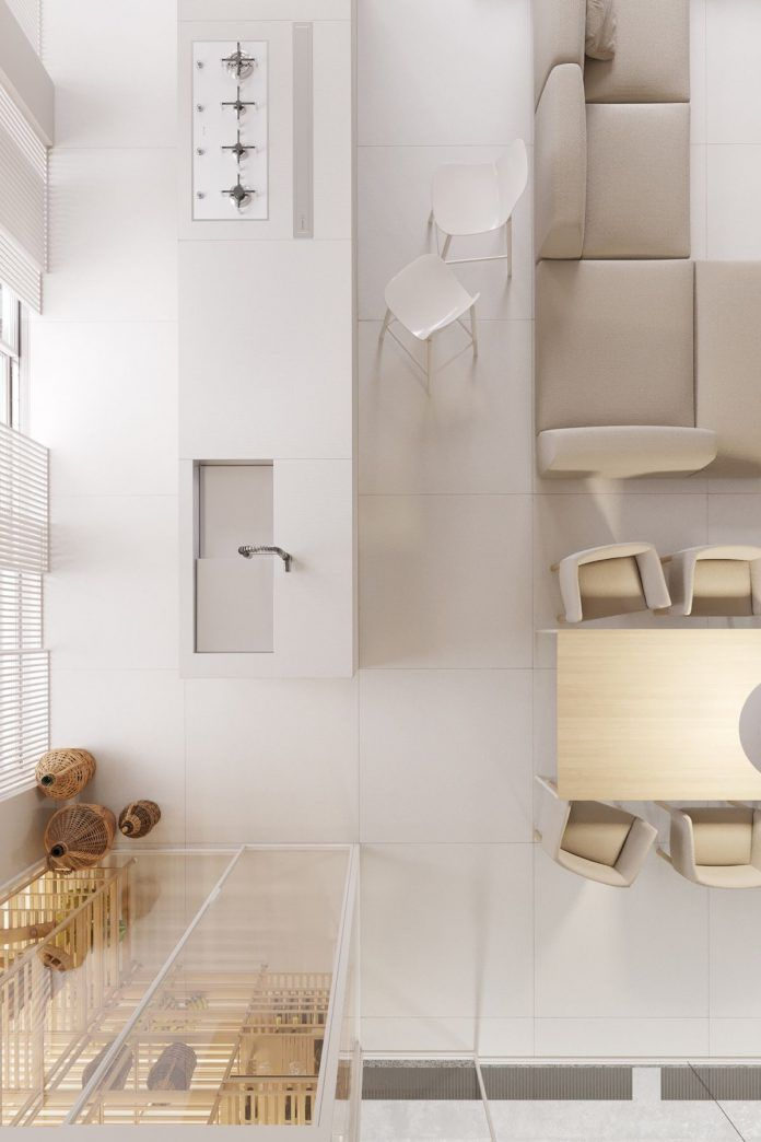 White luxury house design with awesome and perfect features decor inside by igor sirotov