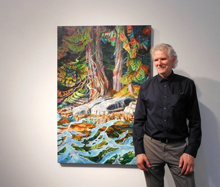 Drew Burnham's latest exhibition, 'Igniting the Coast' runs until July 25th, 2015 at Bau-Xi Gallery Vancouver.