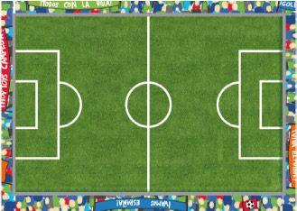 El juego de fútbol: Las planchas soplo ideales para trabajar mediante el juego. Descargables Gratis en http://bloghoptoys.es/las-planchas-soplo/