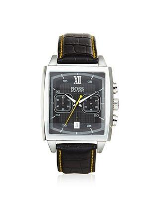 Hugo Boss Men's 1512733 Classic Black/Yellow Stainless Steel Watch