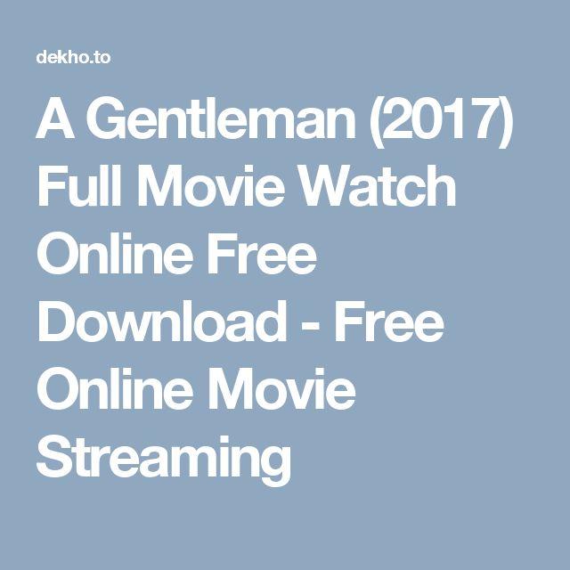 A Gentleman (2017) Full Movie Watch Online Free Download - Free Online Movie Streaming