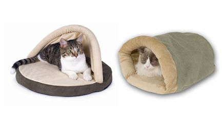 Heated Cat Beds To Keep Kitty Cozy