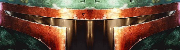 Star Wars Boba Fett dual screen wallpaper