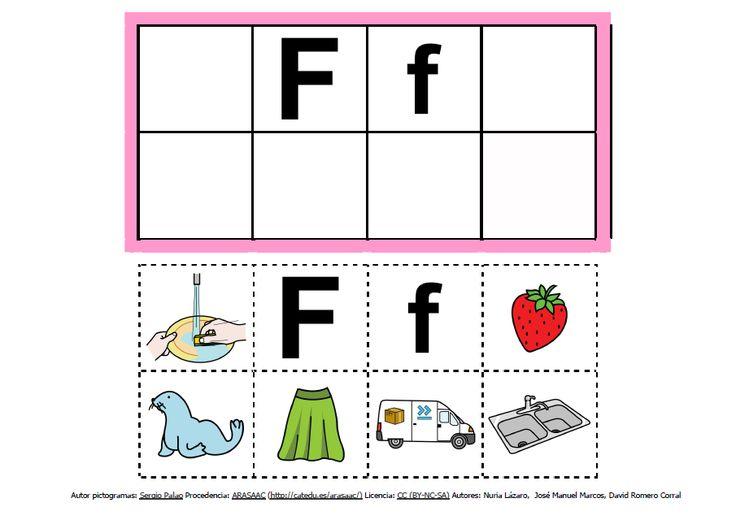 Abecedario con pictogramas: F http://informaticaparaeducacionespecial.blogspot.com.es/2013/09/abecedario-con-pictogramas-de-arasaac.html