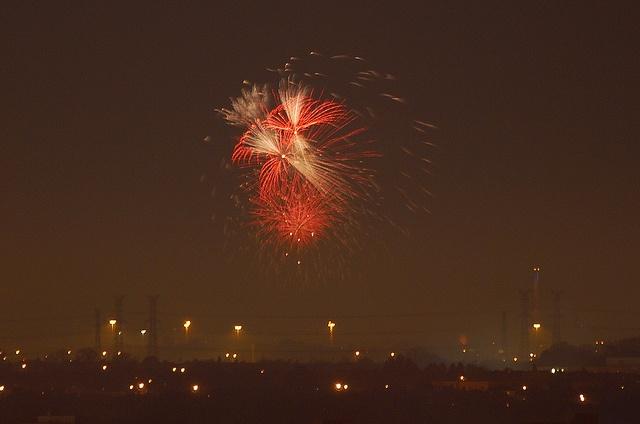 Fireworks #canadaday #fireworks