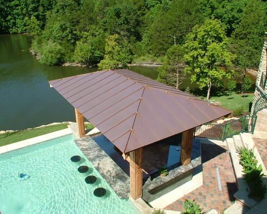 22 best Swim-up Pool Bars images on Pinterest | Pool bar ... on Backyard Pool Bar Designs  id=81845