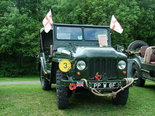 Austin 'Champ' great jeep, had as many reverse as forward gears