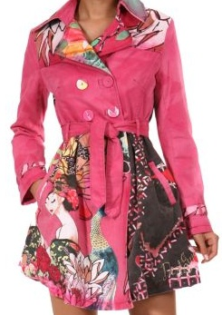 Love Desigual! This is my new coat for the Spring! see me comin'!!
