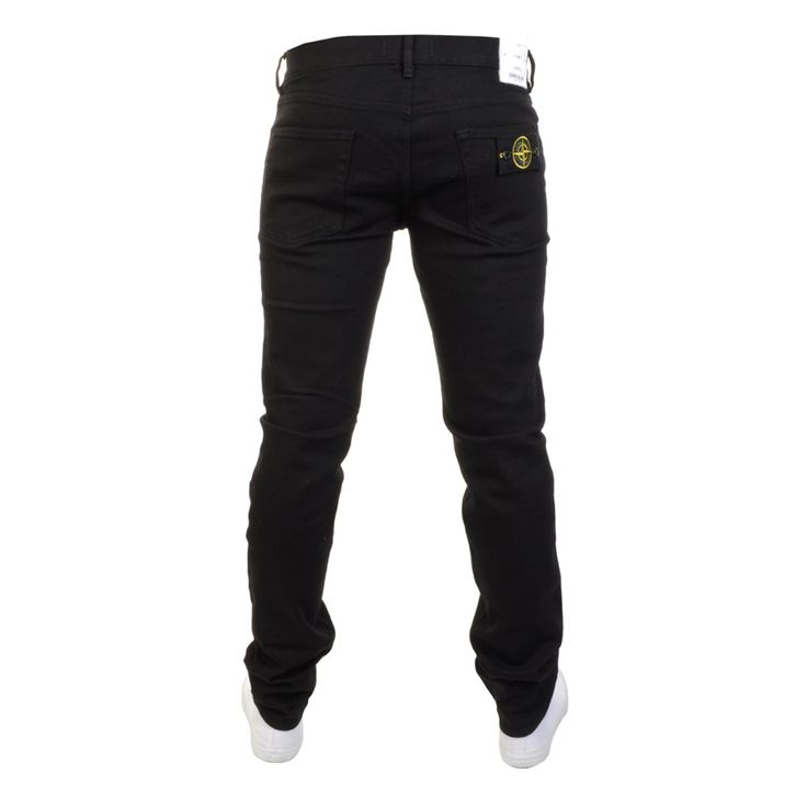 Stone Island > Stone Island Regular Tapered Jeans Black > Stone Island Jeans Stone Island Denim Designer Clothes @ Mainline Menswear Stockists Of Stone Island Jeans G Star Armani Hugo Boss Henri lloyd Ted Baker Paul Smith Lyle And Scott Franklin Marshall lacoste Designer clothing Online UK
