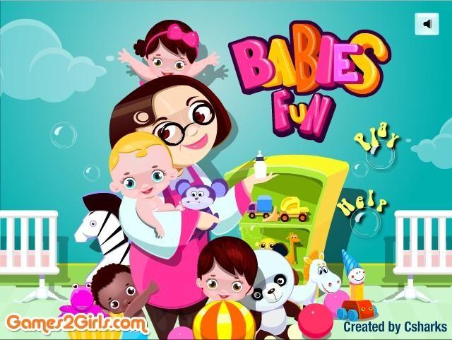 Czy opieka nad kilkoma niemowlakami może być prosta? Postaw się w ciele opiekunki. http://www.ubieranki.eu/gry/3774/niania-w-przedszkolu.html