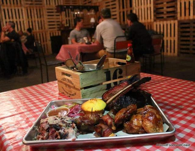 Real Texan BBQ at the Marketta Street Food Supper Club every Thursday night at Rabbit + Cocoon, Miami, Gold Coast.