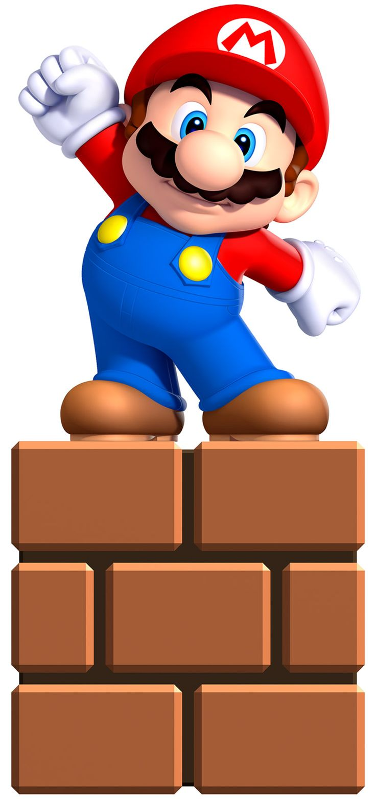 Mini Mario-New Super Mario Bros U