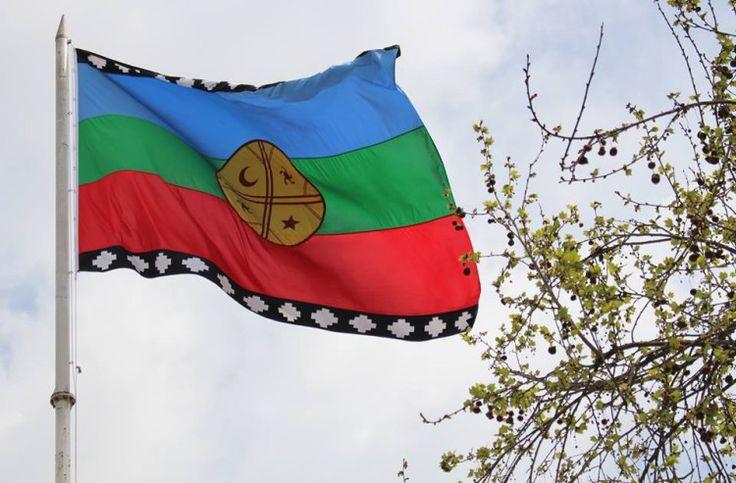 bandera mapuche maipu