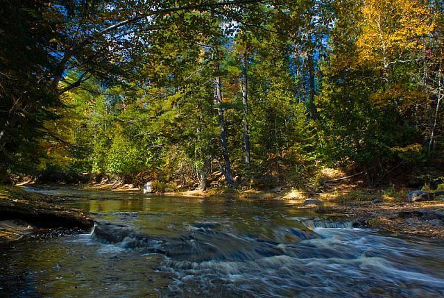 Rusagonis Stream, New Brunswick, Canada