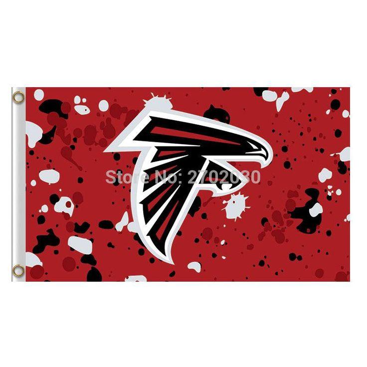 Red Spot Atlanta Falcons Flag World Series Football Team 3ft X 5ft Super Champions Fan Spot Atlanta Falcons Banner