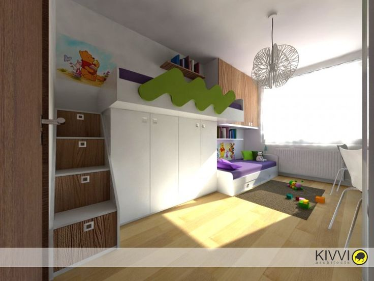 Detská izba, Bratislava - Projekty | Kivvi architects