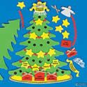 Christmas Blessings Tree Craft Kit. Christmas crafts for children.