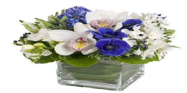 Simple Flower Arrangement for Home