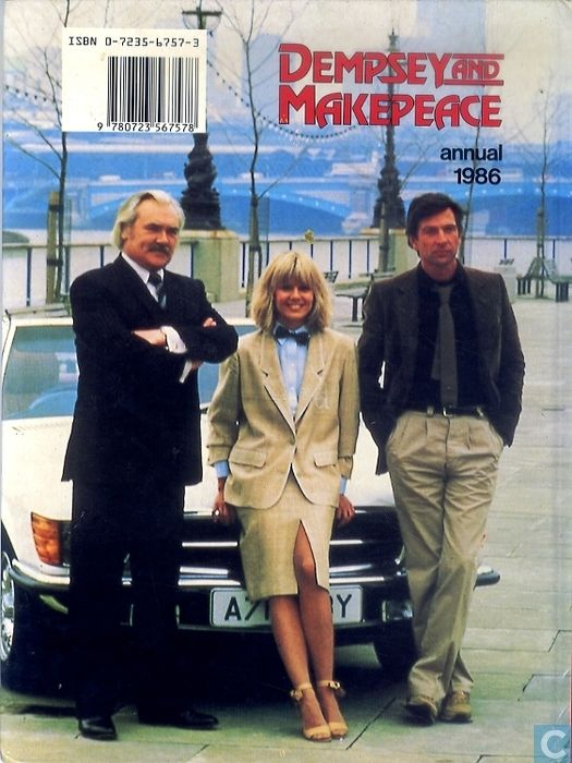 Dempsey and Makepeace - Dempsey and Makepeace Annual 1986