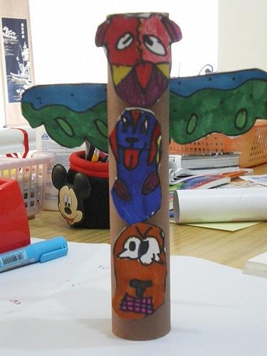 Totem Pole Craft