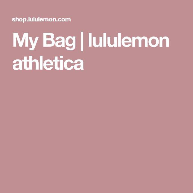 My Bag | lululemon athletica