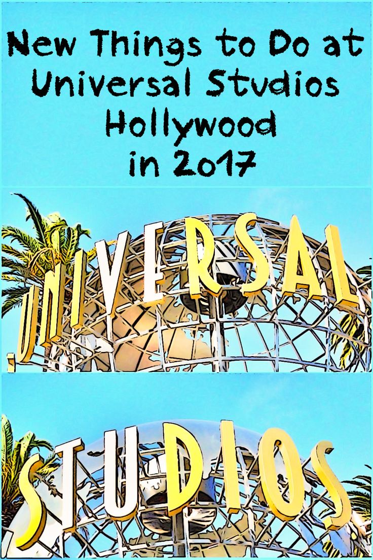 Keeping up with what's new at Universal Studios Hollywood this year.