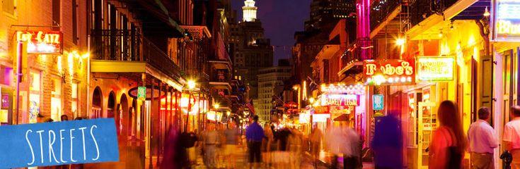 Bourbon Street - Nightlife, Drinking, Dancing, City walk sightseeing, People-watching, Shopping, & MARDI GRAS