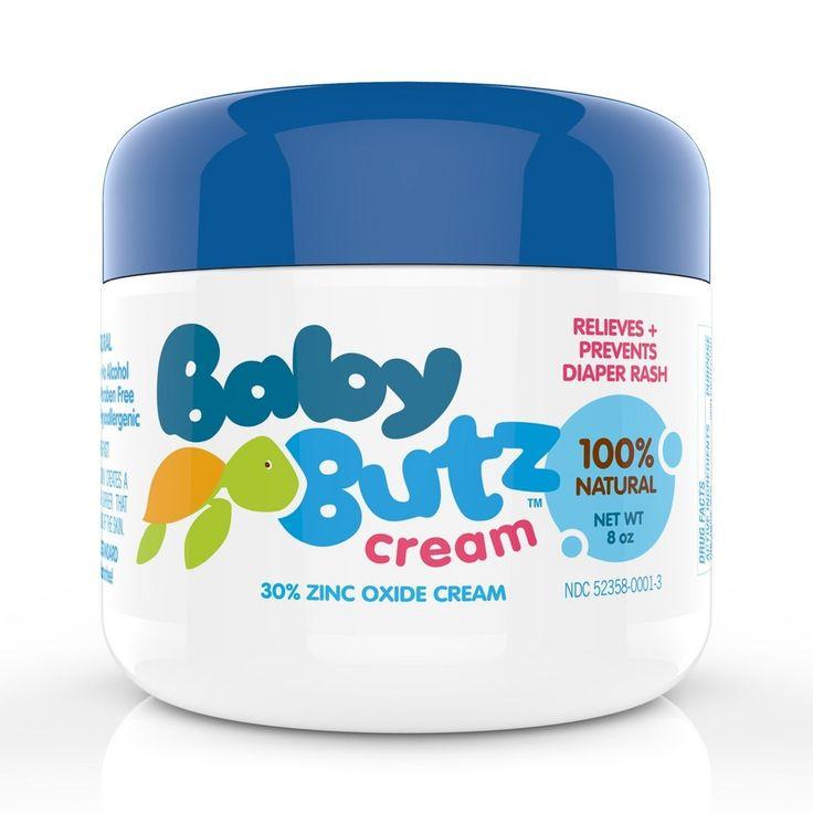 Baby butz 100 natural diaper rash cream 8oz diaper