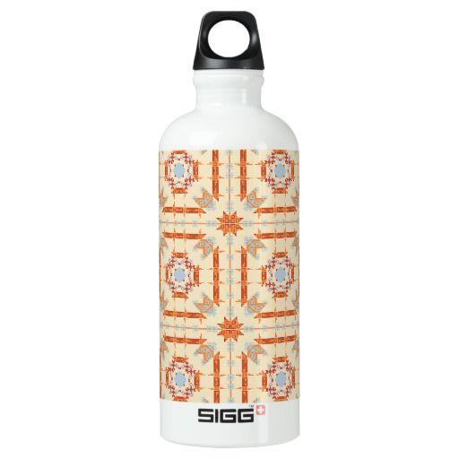 Desert Southwestern Pattern Water Bottle