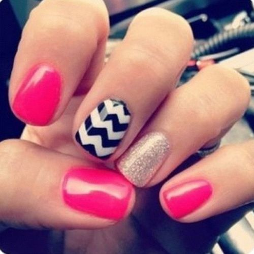 Cute Nail Designs For Short Nails Zebra - Easy Nail Art Designs