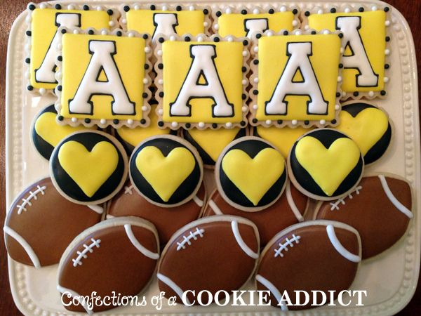 Appalachian State Football Cookies