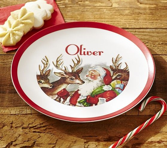 Pottery Barn Kids\u0027 Christmas dinnerware sets make the dining table festive and inviting. Find Christmas plates for kids centerpieces serveware and more. & 40 best Natale - tavola dei bambini / Christmas Kids Table images on ...