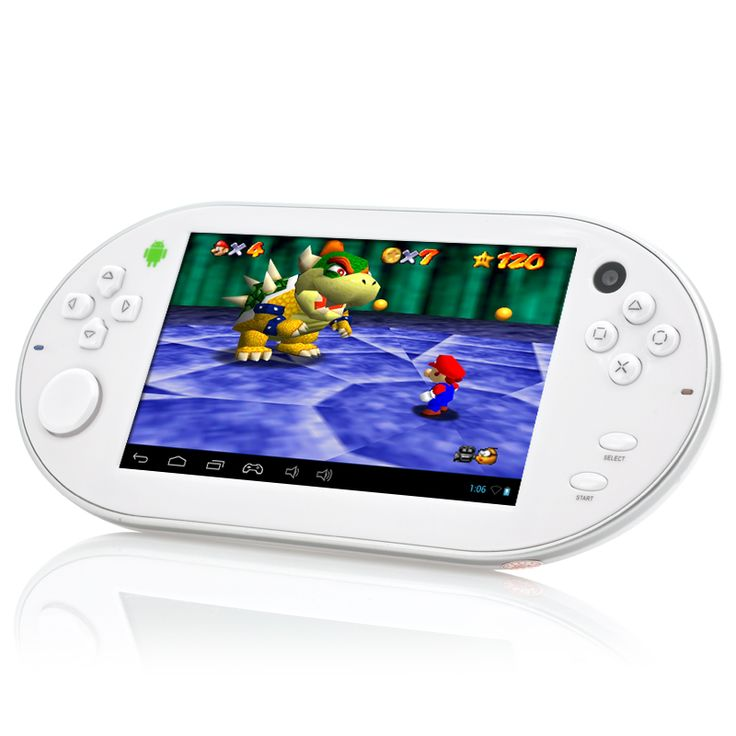 Emulation II - 5 Inch Gaming Console Android Tablet with Emulator (1.2GHz Dual Core CPU, 1GB RAM, 8GB)