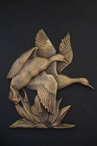 ART-PLAQUES-Bronze-Plaque-Antique-FREE-SHIPPING-WORLDWIDE-a