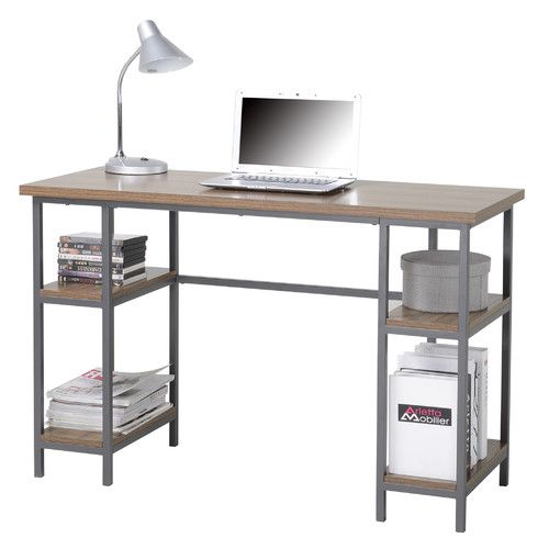 Found it at Wayfair - Computer Desk with 4 Shelves