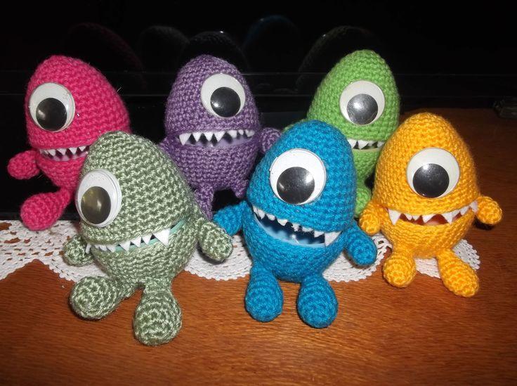 Easter Egg Monsters